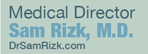 Medical Director Sam Rizk, M.D. photo banner